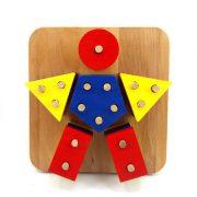 Bul Tak-Geometrik Şekiller-Çocuk